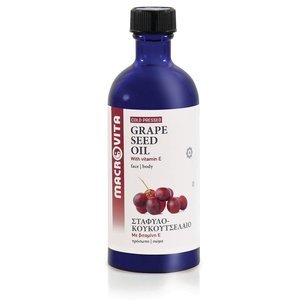 MACROVITA GRAPE SEED OIL in natural oils with vitamin E 100ml