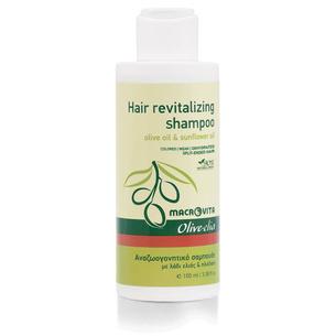 MACROVITA OLIVE-ELIA Hair Revitalizing Shampoo olive oil & sunflower 100ml