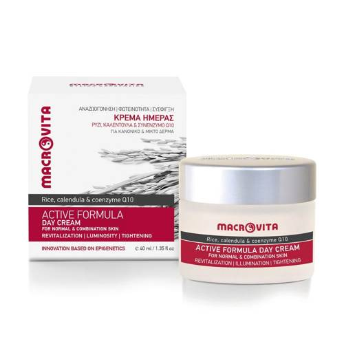 MACROVITA ACTIVE FORMULA natural day cream for normal and combination skin 40ml