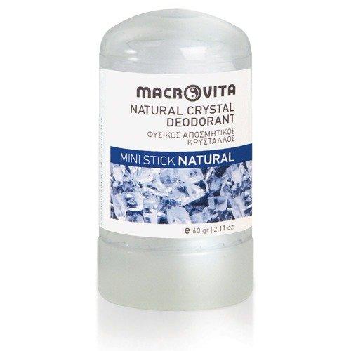 MACROVITA NATURAL CRYSTAL DEODORANT STICK MINI 60g