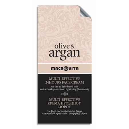 MACROVITA OLIVE & ARGAN MULTI-EFFECTIVE 24HOURS FACE CREAM dry to dehydrated skin 2ml (sample)