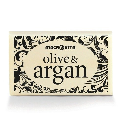 MACROVITA OLIVE & ARGAN SOAP pure olive oil & argan oil 50g