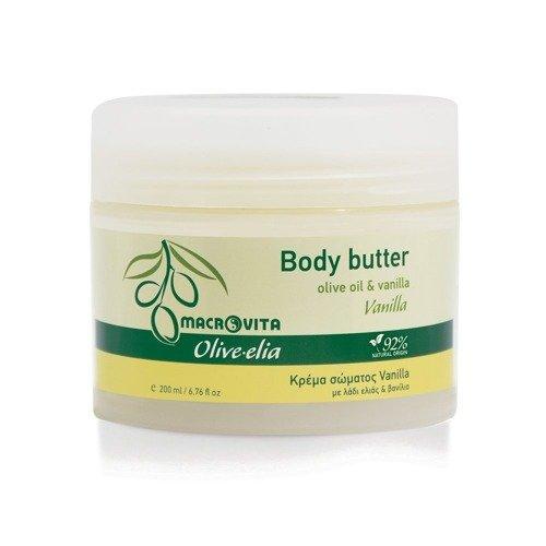 MACROVITA OLIVE-ELIA BODY BUTTER VANILLA olive oil & shea butter 200ml