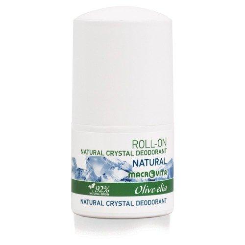 MACROVITA OLIVE-ELIA NATURAL CRYSTAL DEODORANT ROLL-ON NATURAL 50ml