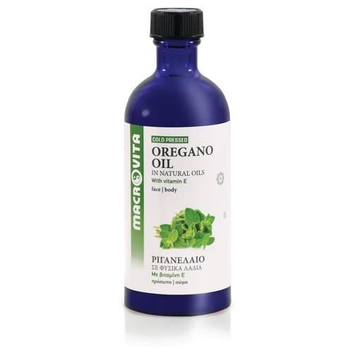 MACROVITA OREGANO OIL in natural oils with vitamin E 100ml