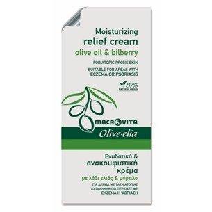 MACROVITA OLIVE-ELIA MOISTURIZING RELIEF CREAM olive oil & bilberry 3ml (Probe)