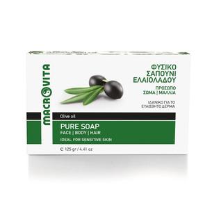 MACROVITA traditionelle greene Seife mit natürlichen Olivenöl 125g