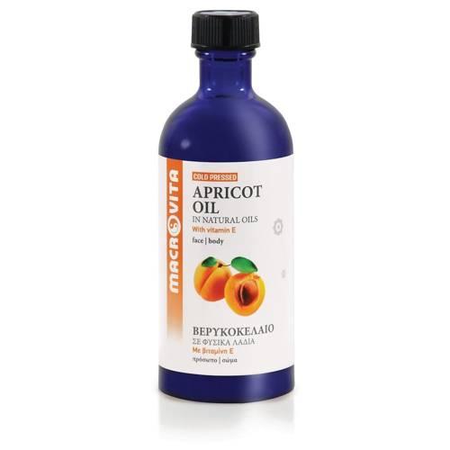 MACROVITA APRIKOSENÖL in natürlichen Ölen with vitamin E 100ml