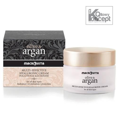 MACROVITA OLIVE & ARGAN 24-Stunden hyaluronic cream pollution & age defense alle Hauttypen 50ml