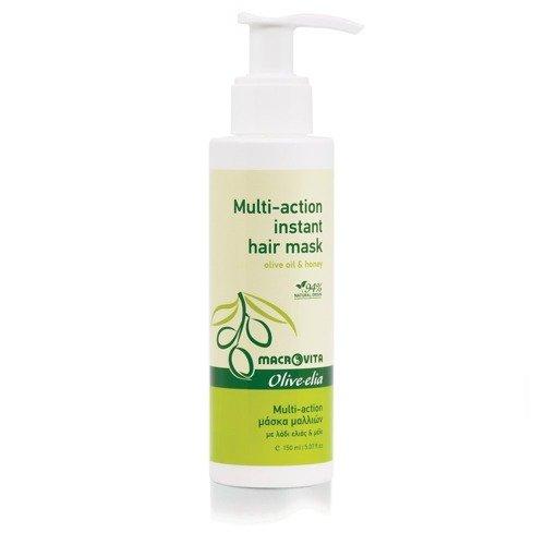 MACROVITA OLIVE-ELIA MULTI-ACTION INSTANT HAIR MASKE Olivenöl & Honig 150ml