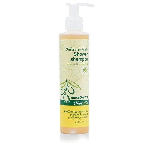 MACROVITA OLIVE-ELIA Shampoo und Bad-Lotion für Kinder mit Bio-Komponenten 200ml