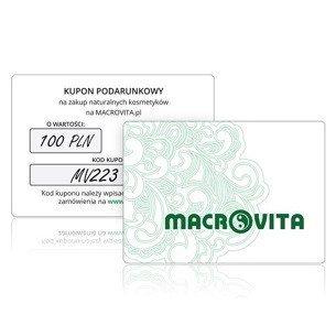 Kupon Podarunkowy MACROVITA o wartości 100 złotych