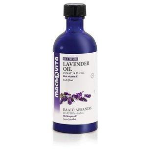 MACROVITA OLEJ LAWENDOWY w naturalnych olejach tłoczony na zimno z witaminą E 100ml