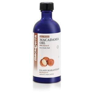 MACROVITA OLEJ MAKADAMIA w naturalnych olejach tłoczony na zimno z witaminą E 100ml
