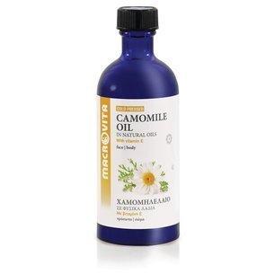 MACROVITA OLEJ RUMIANKOWY w naturalnych olejach tłoczony na zimno z witaminą E 100ml