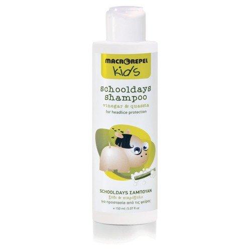 MACROVITA KIDS szampon zapobiegający wszawicy ocet & gorzknia 150ml