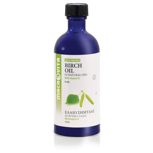 MACROVITA OLEJ BRZOZOWY w naturalnych olejach tłoczony na zimno z witaminą E 100ml