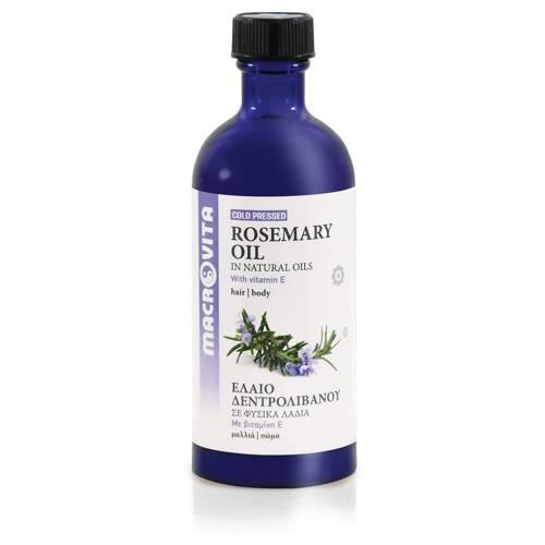 MACROVITA OLEJ ROZMARYNOWY w naturalnych olejach tłoczony na zimno z witaminą E 100ml