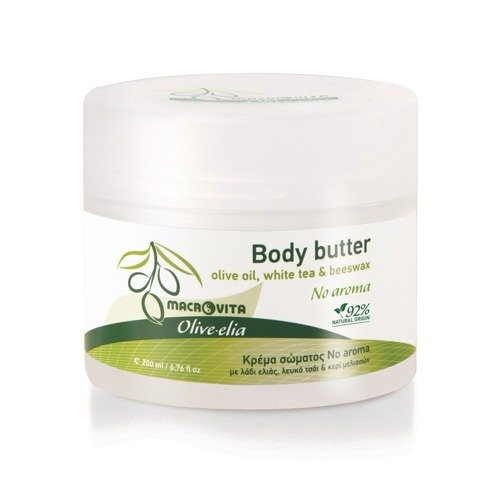 MACROVITA OLIVE-ELIA NO AROMA masło do ciała bezzapachowe z bio-składnikami 200ml